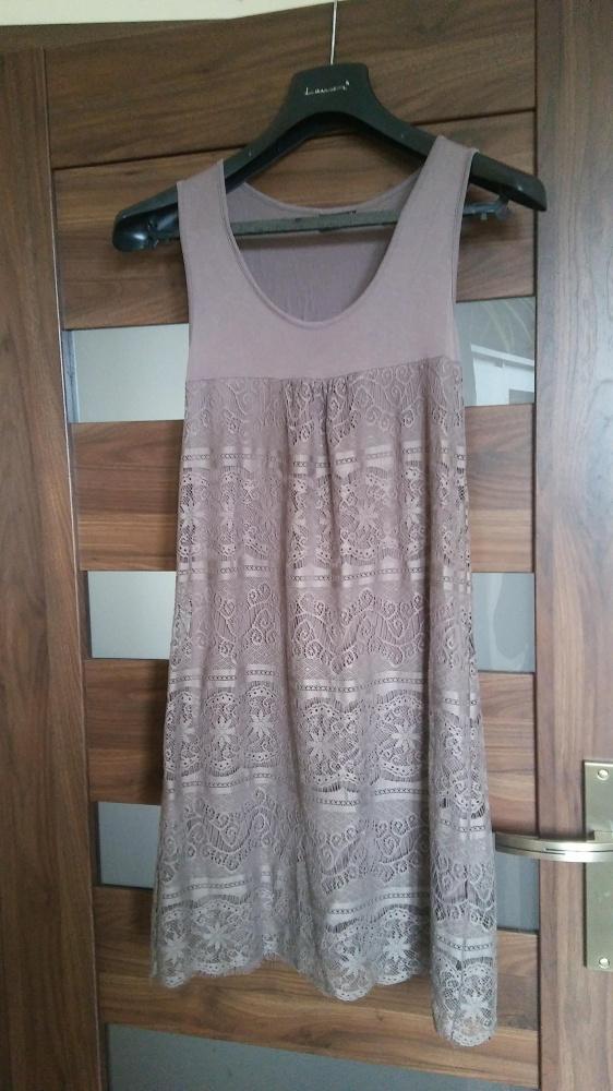 Letnia koronkowa sukienka 36