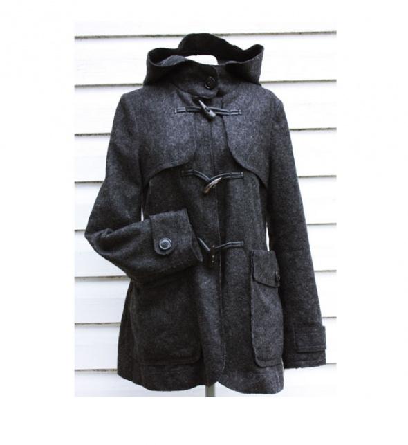 Płaszcz z wełną Marc O Polo