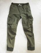 Spodnie khaki bojówki 7 8 must have H&M...