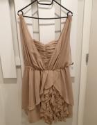 Sukienka nude...
