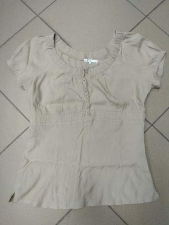 Bluzki Beżowa bluzka Reserved 40 L