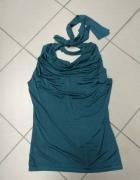 Zielona bluzka wiskoza Plume 40 L...