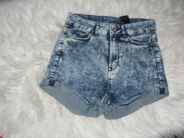 Spodenki jeansowe HM 34...