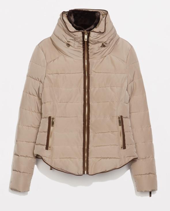 ZARA pikowana kurtka 38