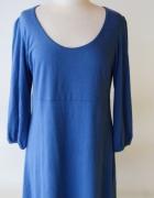 Sukienka Niebieska KappAhl 44 46 XXL XXXL Kobaltowa...