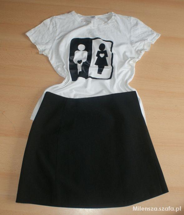 Spódniczka plus bluzeczka r 34