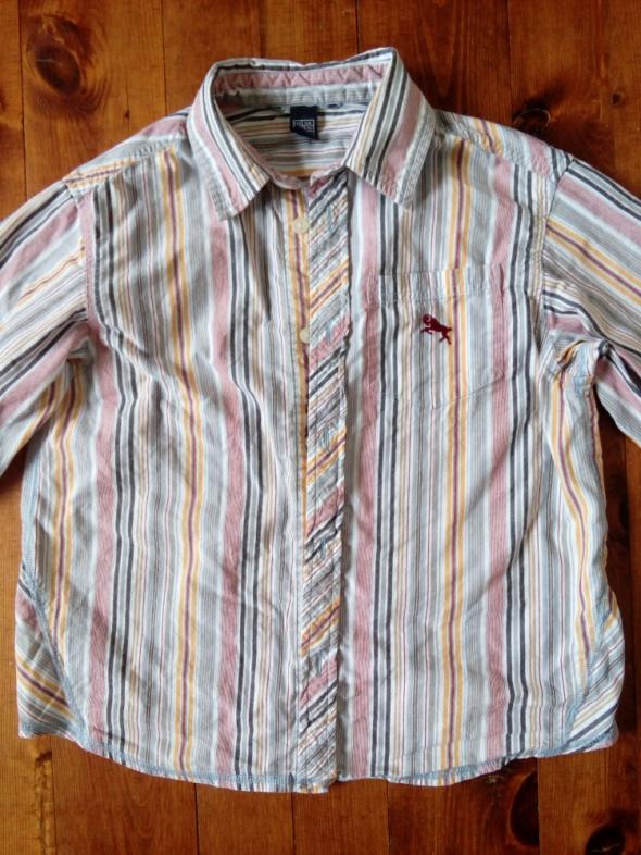 Koszula w paski 134 cm