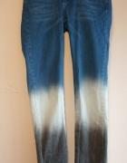 Długie spodnie rurki jeansy OrfeoNegro rozmiar 28...