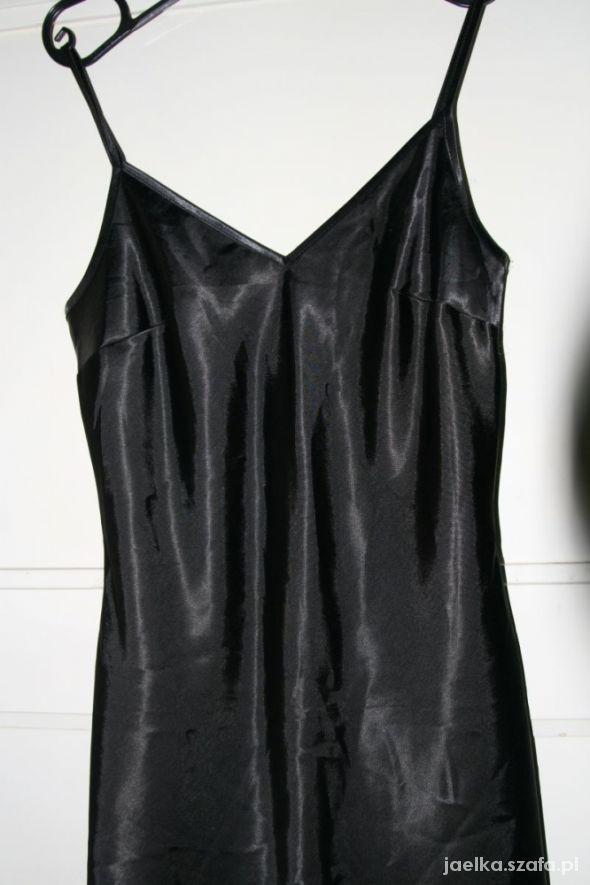 czarna sukienka 38 orsay