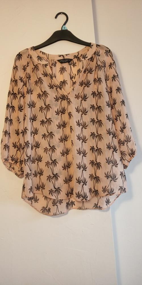 Cienka bluzka koszula DOROTHY PERKINS rozmiar 40 brzoskwiniowa...