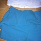 Nowe szorty spódnico spodenki 36 38 morskie elegan