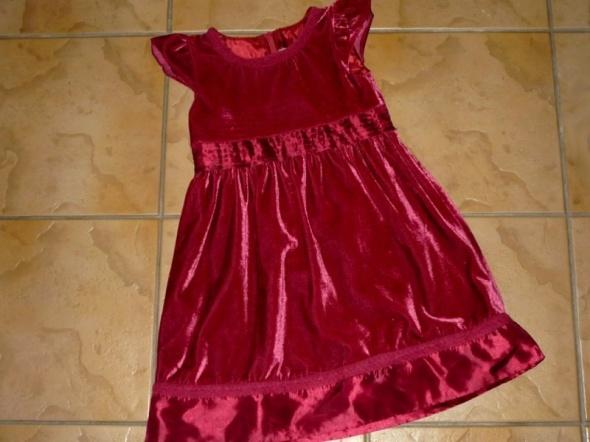 Sukienki i spódniczki rozm 116 COOL CLUB sukienka wyjściowa ELEGANCKA
