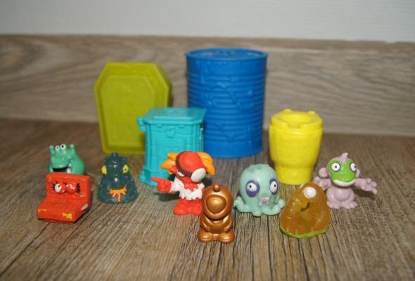 Zestaw figurki kolekcja Śmieciaki Trash Pack 12 elementów...