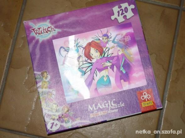 Zabawki WITCH Czarodziejki puzzle 3D