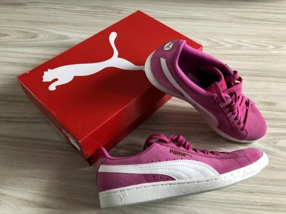 tenisówki puma vikky pinkwhite rozmiar 38 5 nowe