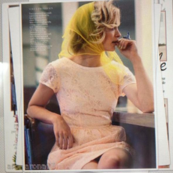 Koronkowa sukienka Pudrowy róż H&M 40