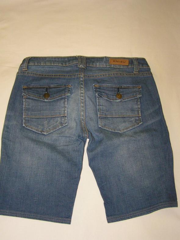 Szorty spodenki jeansowe AMISU...