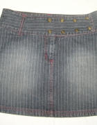 RESERVED mini spódniczka jeansowa...