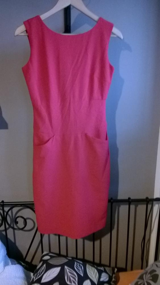 Suknie i sukienki Elegancka czerwona sukienka top secret 36