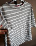 Szara bluzka w białe paski 34 SOLIVER...