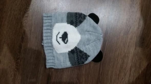 Czapka szara Panda 98