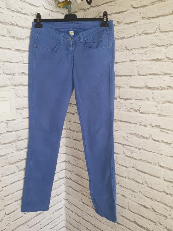 Idealne niebieskie spodnie S...