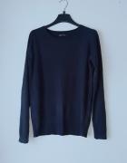 Idealny granatowy sweterek cropp L...