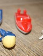 Motorówki zabawki metal i plastik zwierzątka...