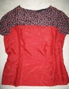NEXT czerwona damska bluzka w paski roz 42...