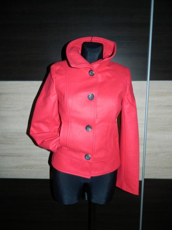 TOP SECRET czerwona kurtka wełna roz 36...
