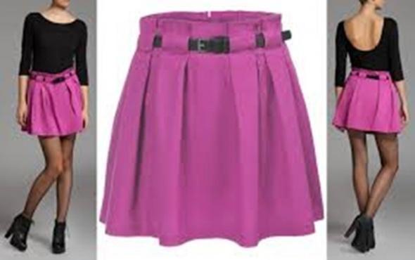 Troll Top Secret spódniczka mini z paskiem roz 34...
