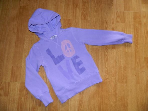 Bluzy CUBUS bluza z napisem LOVE roz 116