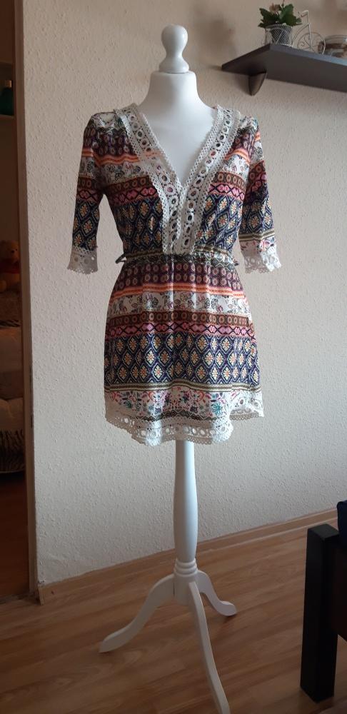 sukienka tunika wzory aztec