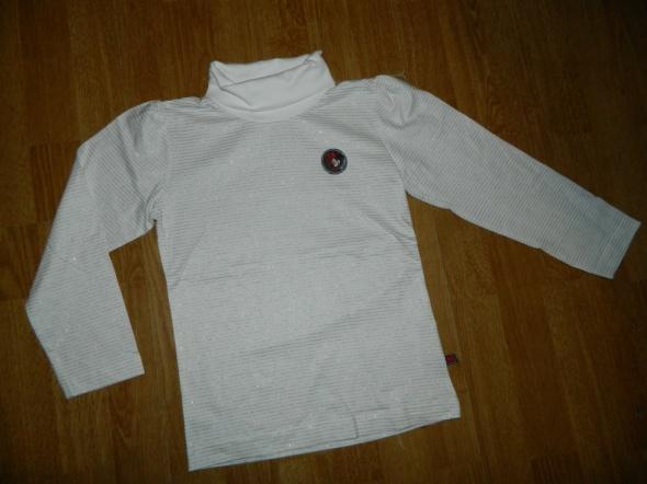 Bluzki Bluzka z golfem paski MINNIE roz 122 128