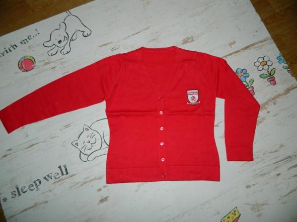 M&S sweterek na guziki roz 116...
