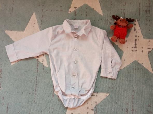 Elegancka koszula body dla chłopca roz 74