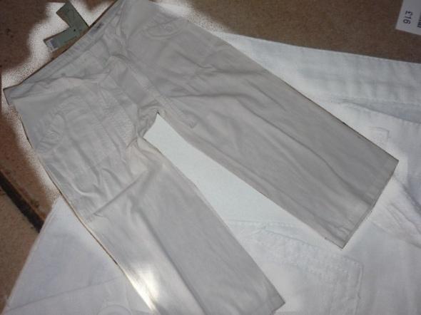 Spodnie rozm 44 46 XXL XXXL NEXT NOWE spodnie ciążowe rybaczki OD 1 TYG CIĄZY