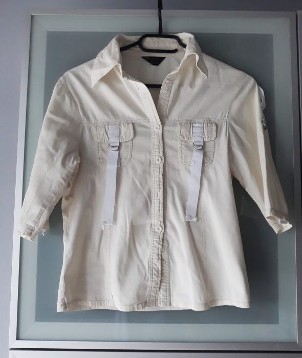 kremowa koszula rozmiar S