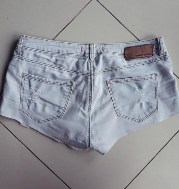krótkie spodenki jeansowe szorty rozmiar M