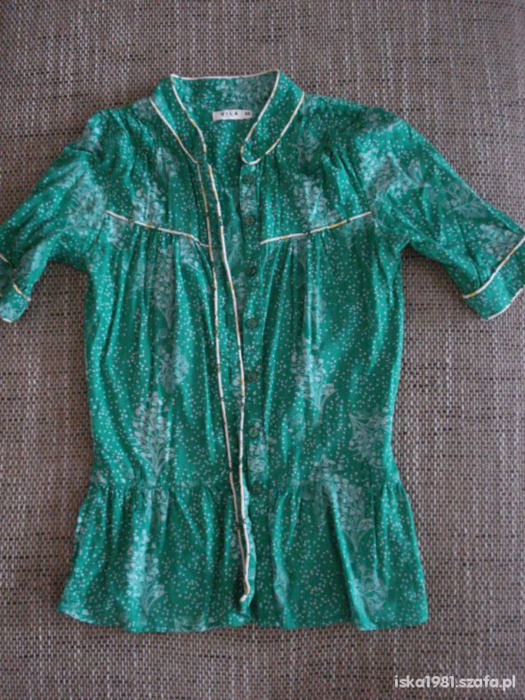 Zielona bluzka VILA rozm 34 XS
