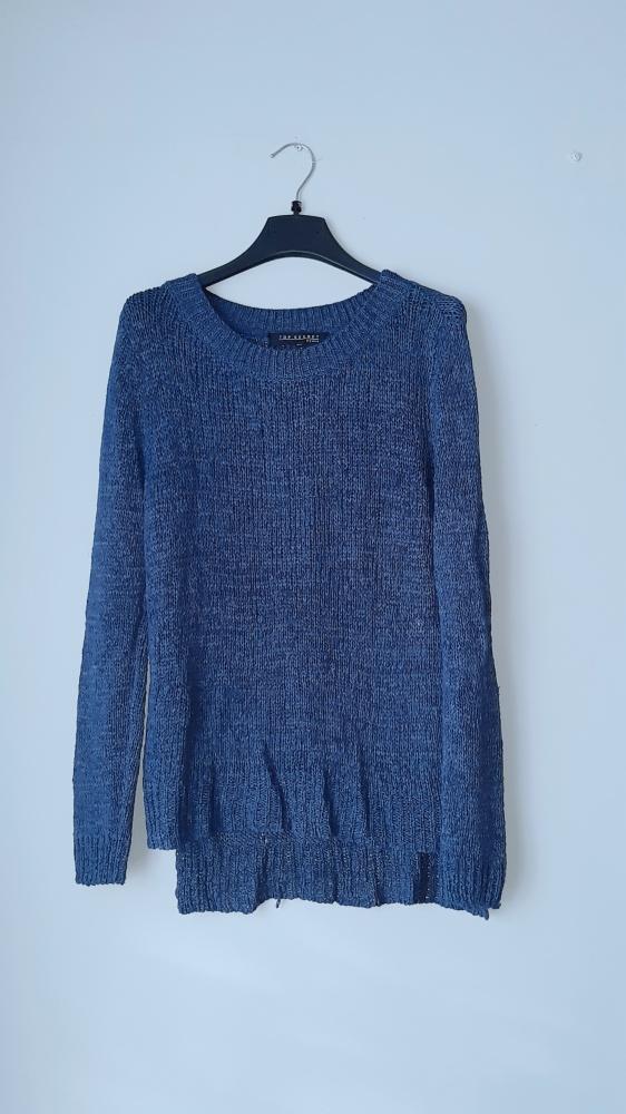 Idealny granatowy sweter top secret...