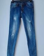 Spodnie jeansy rurki M...