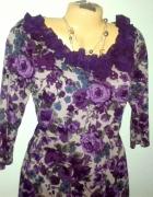bluzka QUIOSQUE 42 XL kwiaty
