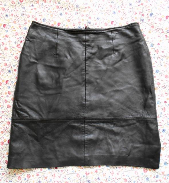Spódnice C and A skórzana spódnica mini skóra naturalna