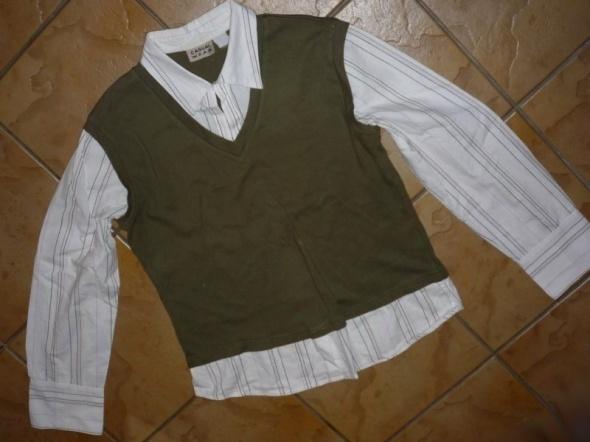 rozm 40 42 L XL CASUALWEAR koszula 2 w 1 jak nowa...