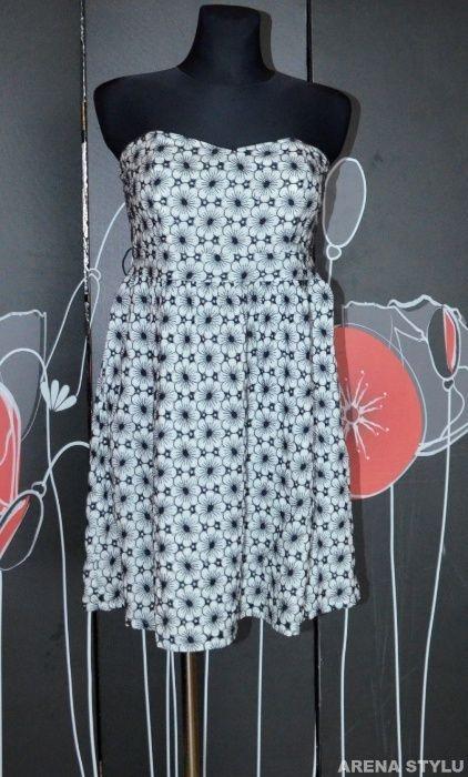 1021 BE Beau sukienka w kwiaty rozmiar 40 L