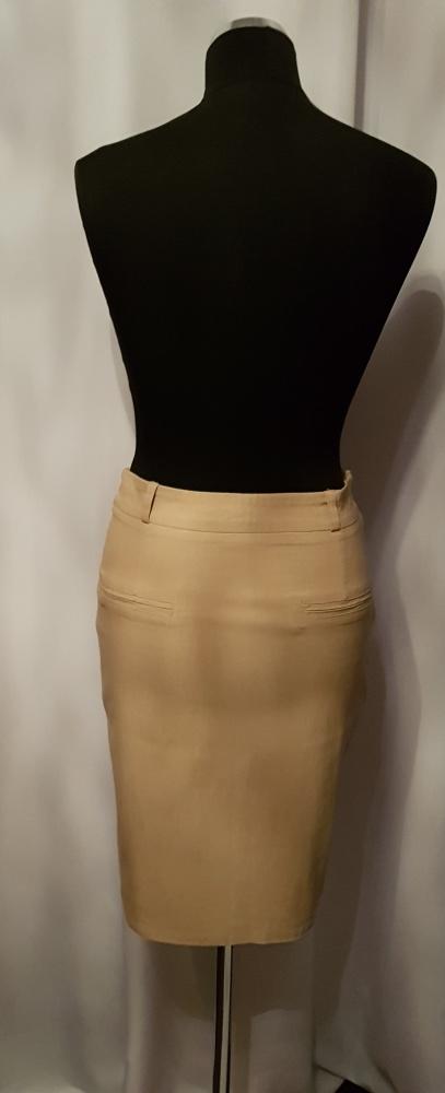 Spódnice Spodnica elastyczna nude