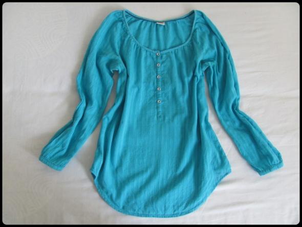 Długa koszula tunika ESPRIT podwijany rękaw 42 XL...