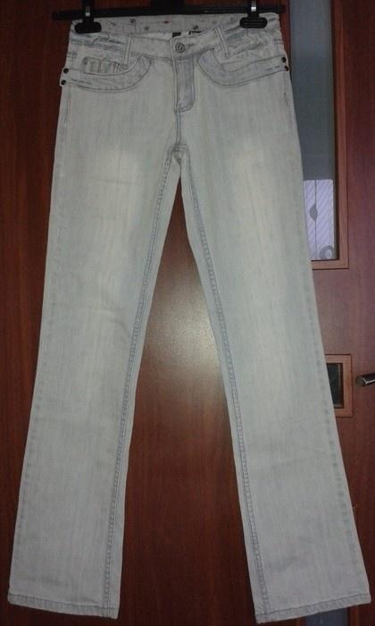 Nowe Jasnoszare jeansy