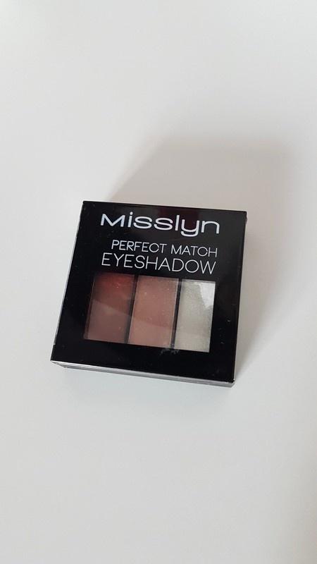 Oczy NOWE cienie do powiek Misslyn brąz